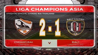 BALI UNITED VS CHIANGRAI UNITED-ACL Preliminary round 2