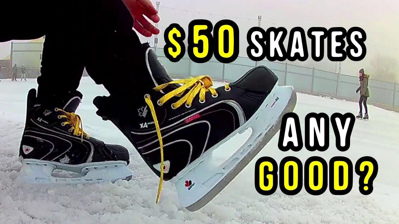 Are Cheap Hockey Skates Good Enough Youtube