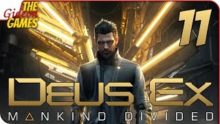 Прохождение Deus Ex: Mankind Divided #11 ➤ ТЕЛЕК ЛЖЁТ!