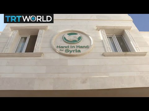 The War in Syria: New hospitals are built in war-torn Idlib