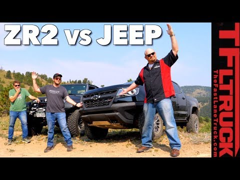Chevy ZR2 vs Jeep vs Cliffhanger 2.0: Our Toughest Off-Road Test