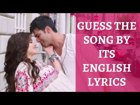 Guess the Song by its English Lyrics | Bollywood | #3