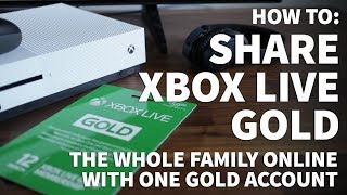 How To Share Xbox Live Gold – Can You Share Xbox Live Gold With Family Members