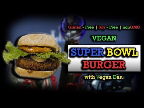 Vegan Super Bowl Burger | Gluten-Free, Soy-Free, Non-GMO, Vegan