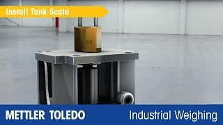 How to Install Tank Scales Quickly - Product Video - METTLER TOLEDO Industrial - en
