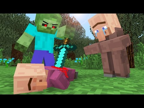 Villager Life III - Minecraft Animation