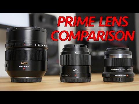 Panasonic 42.5mm F1.7 Review vs 42.5mm F1.2 & Olympus 45mm F1.8 - Lens Comparison