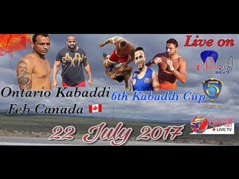 6th kabaddi cup (Ontario kabaddi Fed Canada)  Young Kabaddi Club