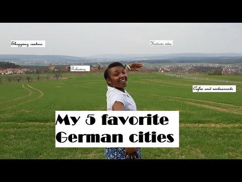 5 favourite german cities
