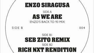 Enzo Siragusa - As We Are (Enzo