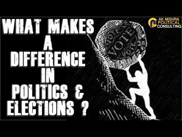 WHAT MAKES A DIFFERENCE IN POLITICS & ELECTIONS ? micro STRATEGIC POLITICAL CONSULTING SERVICES