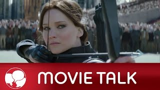 AMC Movie Talk - First MOCKINGJAY PART 2 Trailer, BATMAN V SUPERMAN Synopsis