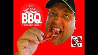 KFC hits a Home Run with their new Smoky Mountain BBQ Chicken!