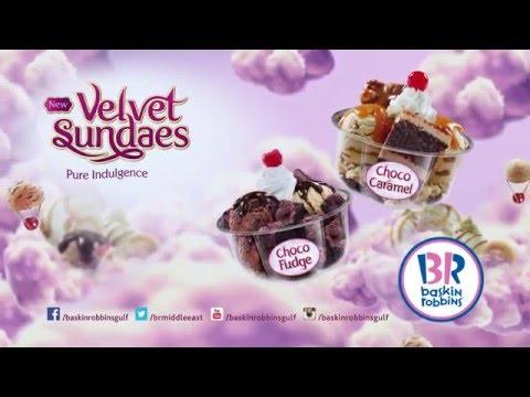 Velvet Sundaes with Baskin Robbins