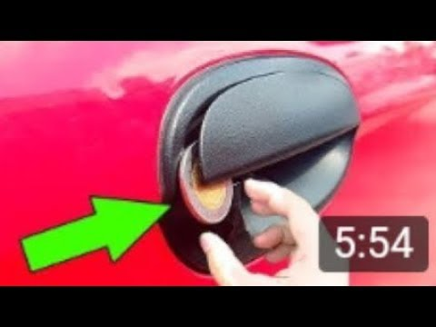 6 TRICKS TO OPEN A CAR WITHOUT THE KEY