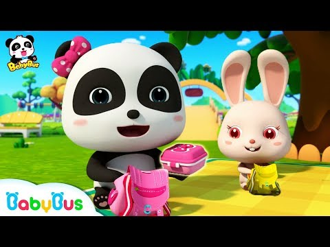 Baby Panda&39;s Spring Picnic  Sharing Song for Kids  BabyBus Toys Cooking Pretend Play  BabyBus