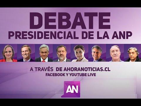 Debate presidencial de la Asociación nacional de la prensa de Chile