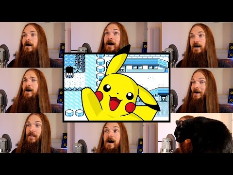 Pokemon Red/Blue/Yellow - Cerulean City Acapella