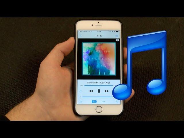 Отлисная музыка для вызова на iphone 6s