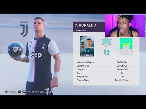 RONALDO IN A PACK!!! THE BEST PES 2020 PACK OPENING EVER
