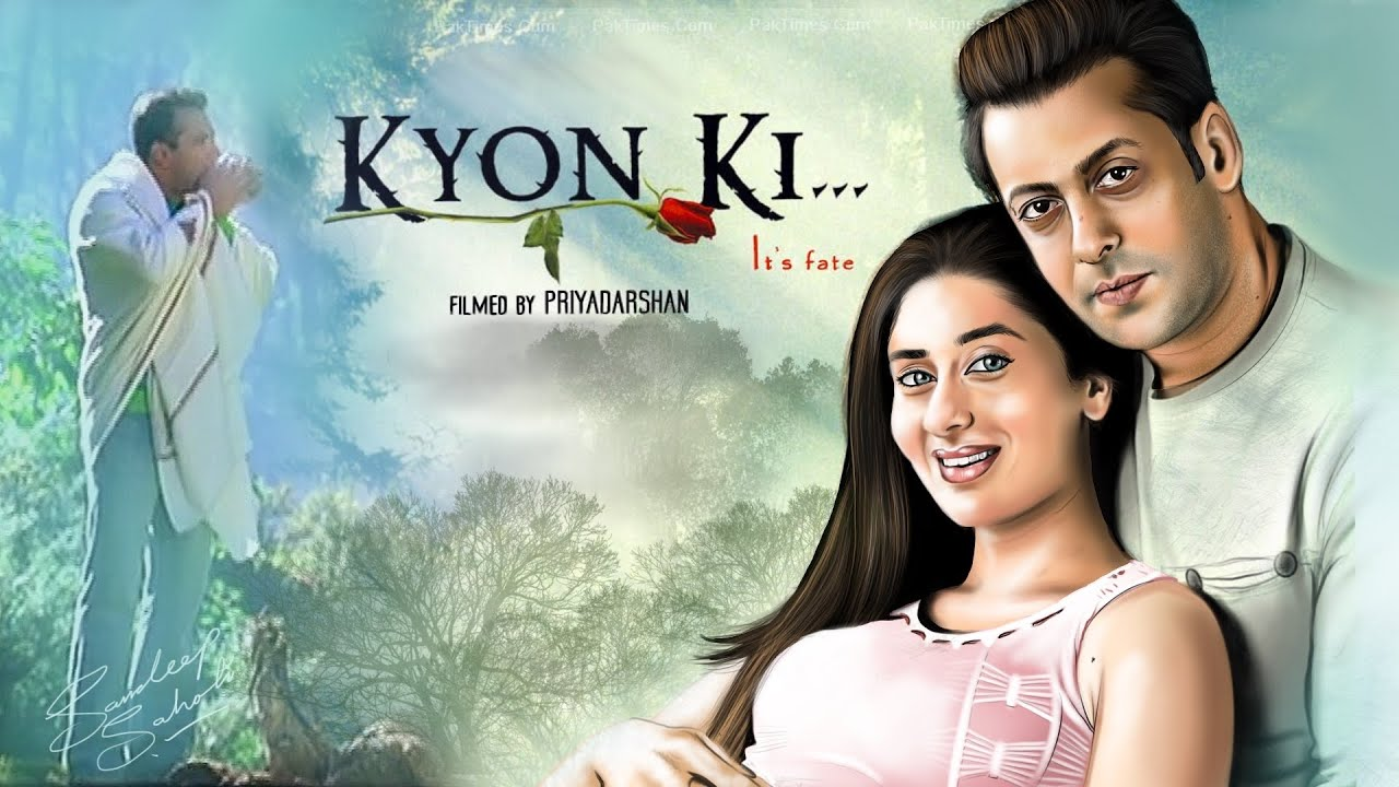 Download KYON KI 2005 HD   Salman Khan   Kareena Kapoor   Jackie shroff   Rimi Sen   Digital Art