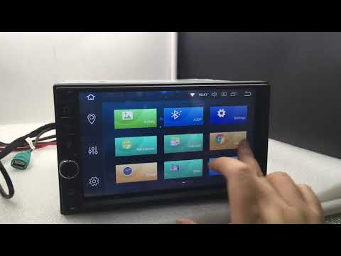 Лучший 2Din Восьмиядерный Андроид 8.0 Магнитола Универсальная!