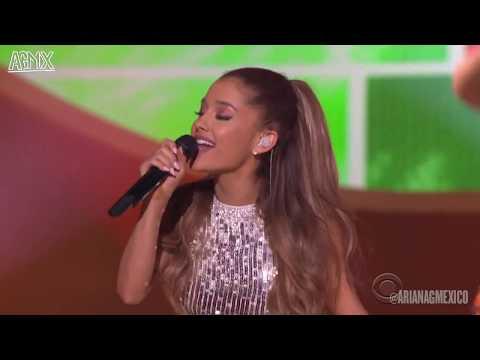 [1080p] Ariana Grande - Santa Tell Me (Live at A Very Grammy Christmas 2014)