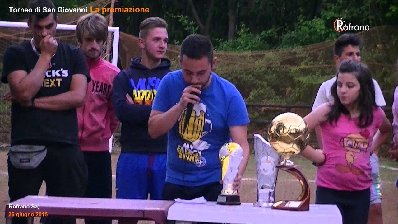 Torneo di San Giovanni la premiazione