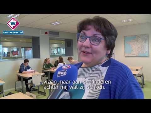 Lerares uit Naaldwijk krijgt bijzondere Franse onderscheiding - OMROEP WEST
