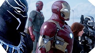 CAPTAIN AMERICA Civil War - Bande Annonce SUPERBOW...