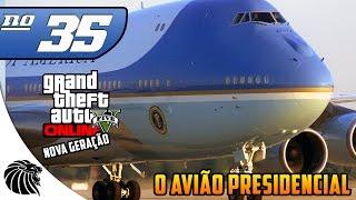 GTA 5 ONLINE - O AVIÃO PRESIDENCIAL  #35