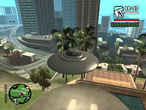 How to get U.F.O. in GTA San Andreas