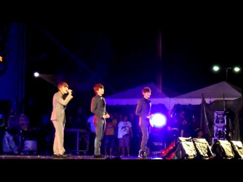 [Fancam] Words of the Westerly Wind : Super Junior M live@MTV Exit in Chiangmai Thailand