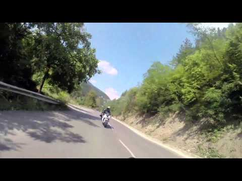 Moto sport-tourism with friends