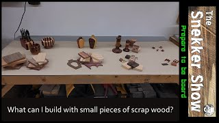 What can I build with small pieces of scrap wood?