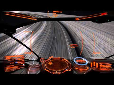 Elite: Dangerous - Mining With A Cobra Mk III And Limpet Drones (GTX 750 Ti / 720p)