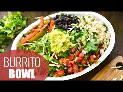 HEALTHY LUNCH IDEAS: DIY Chipotle Burrito Bowl