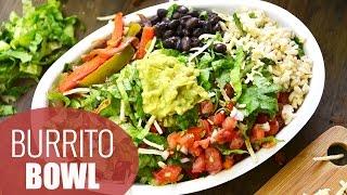 DIY Chipotle Burrito Bowl  HEALTHY LUNCH IDEAS