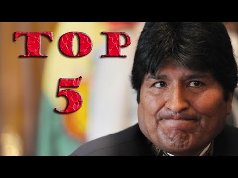 TOP 5 ESTUPIDECES DE EVO MORALES