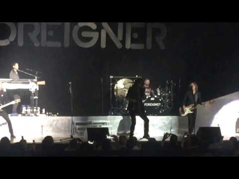 Foreigner - Double Vision. Fayetteville, NC. 2-25-2017. Crown Theatre.