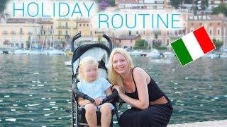 Meine Urlaub Routine mit Kind | Italien | Isabeau