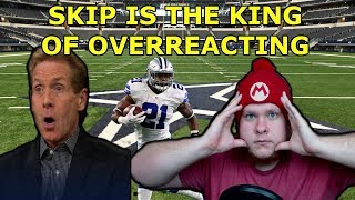 Skip Bayless Is Overreacting About Zeke