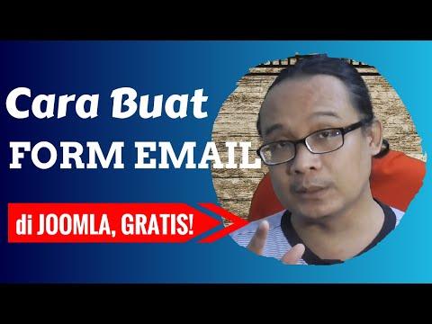 Cara Membuat Form Email Di Joomla | Membuat Formulir Email Di Joomla - Belajar Joomla Pemula