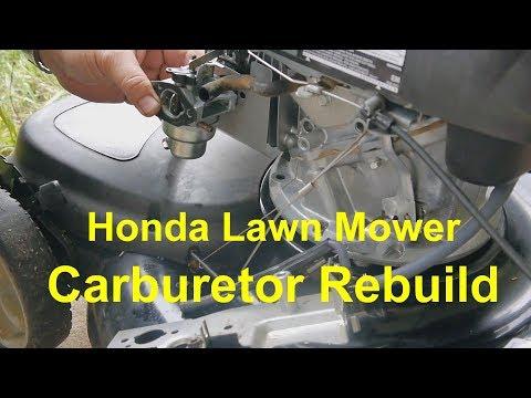 Honda HRX 217 Carb Repair | Doovi