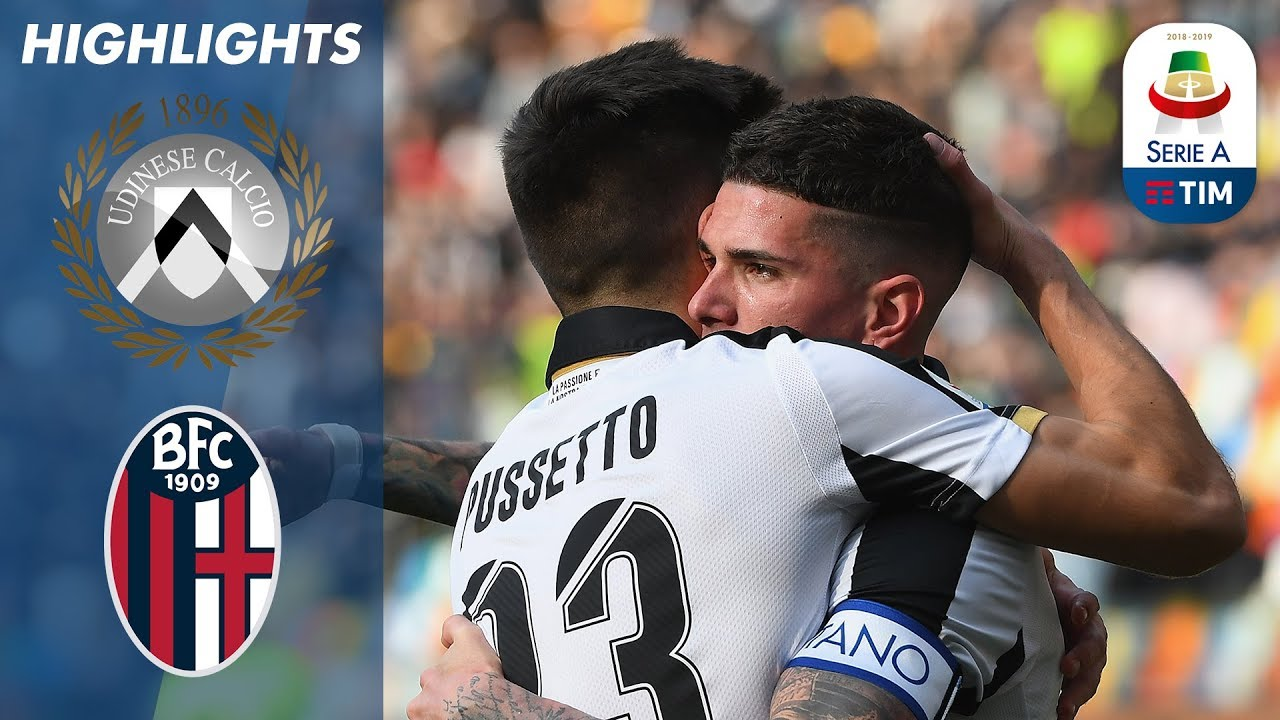 Download Udinese 2-1 Bologna | Pussetto Heads it Home for Udinese | Serie A