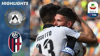 Udinese 2-1 Bologna | Pussetto Heads it Home for Udinese | Serie A