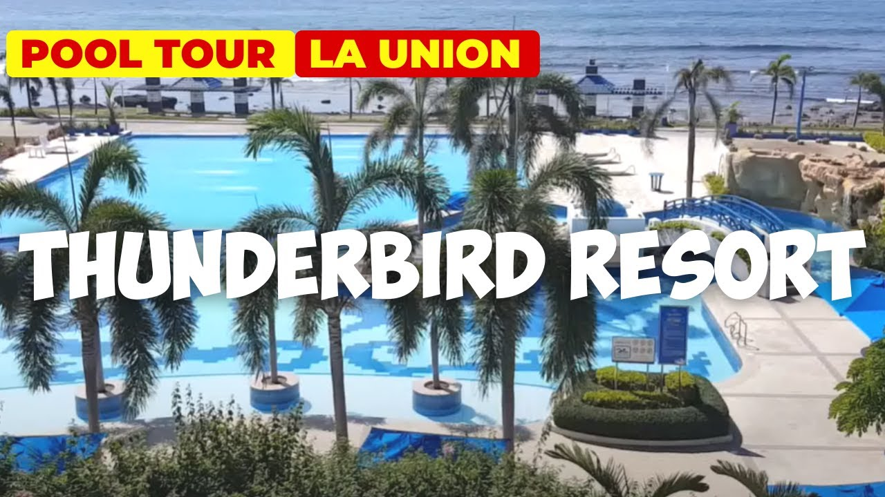 Swimming Pools At Thunderbird Resort San Fernando La Union Youtube