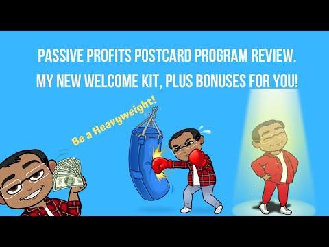 Passive Profits Postcard Program Welcome Kit