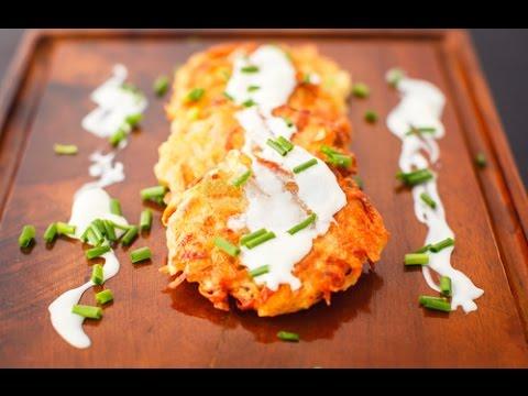 Картофельные драники с творогом по-украински / Potato Pancakes Recipe