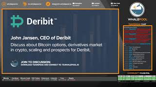 WhalePool Interview: Deribit CEO John Jansen introduces new Perpetual Swap Contracts aug/2018